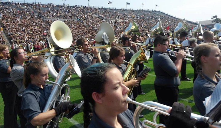 Students in School Activites (Athletics, Classrooms, Plays, Band, Art Projects) (PHS Band.jpg)