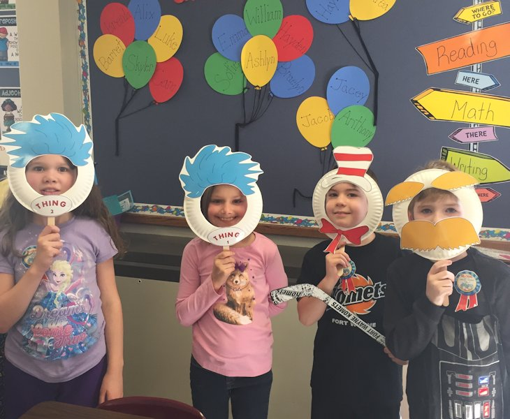 Students in School Activites (Athletics, Classrooms, Plays, Band, Art Projects) (Elmwood Dr Seuss Day.jpg)